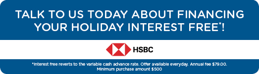 HSBC Holidays Interest Free